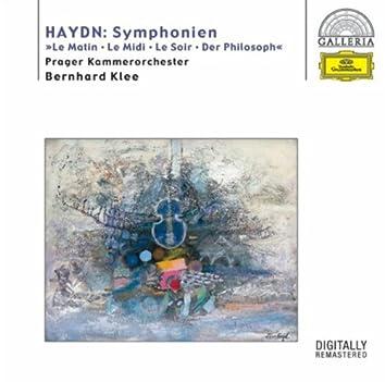 """Haydn: Symphonies Hob.I:6 """"Le Matin"""", 7 """"Le Midi"""", 8 """"Le Soir"""" & 22 """"The Philosopher"""""""