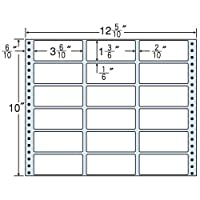 東洋印刷 タックフォームラベル 12 5/10インチ ×10インチ 18面付(1ケース500折) M12N