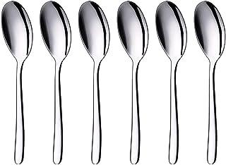 Olivisa Stainless Steel Large Serving Spoon Set of 6 per Pack