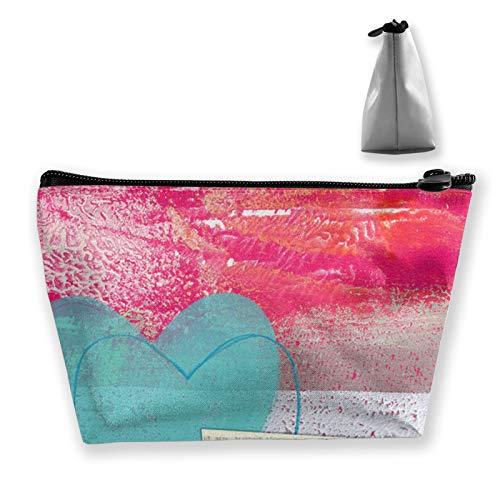 Tragbare Aufbewahrungstasche Follow Your Bliss Make-up-Tasche Organizer Reise Make-up Zug Fall Kosmetiktasche Organizer Tasche