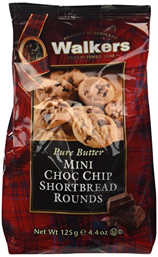 Walkers Mini Chocolate Chip Shortbread 125 g