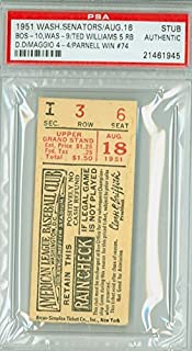 Amazon com: Baseball - Ticket Stubs / Sports: Collectibles