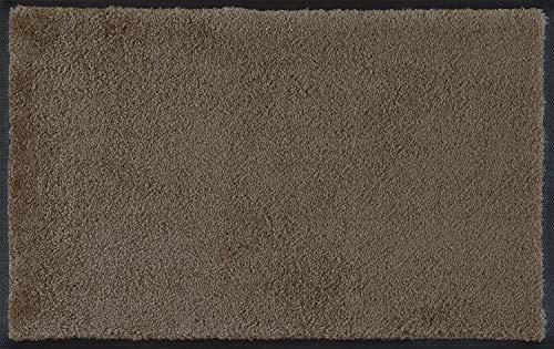 Wash + Dry Fußmatte Taupe, 60x90 cm, innen und außen, waschbar