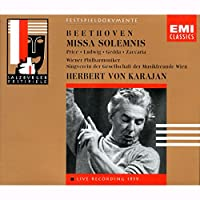 Beethoven;Missa Solemnis