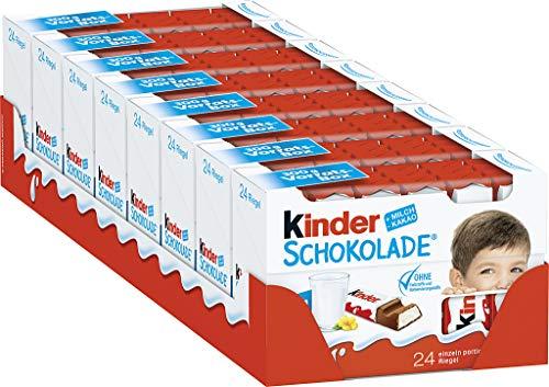 kinder Schokolade Vorratspack, 8er Pack (8 x 300 g Packung)