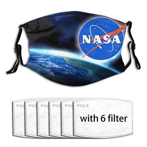 YDAJERE NASA Men Women Adjustable Earloop Face Mouth Anti Pollution...