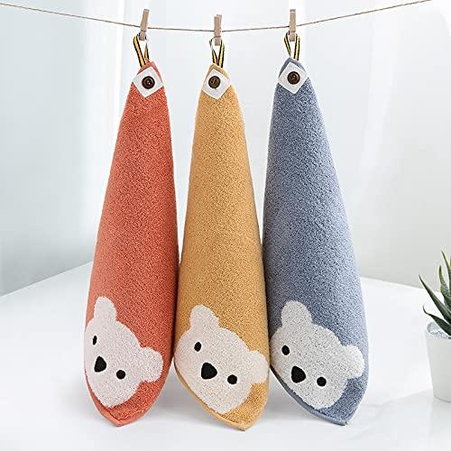 Toallitas suaves especiales con toallas cuadradas de doble cara para niños de cocina pueden ir acompañadas de toallas doradas