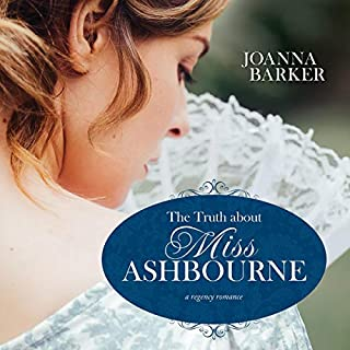 The Truth About Miss Ashbourne audiobook cover art