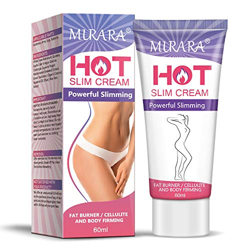Body Hot Cream, Professional Cellulite Slimming and Fat Burning Cream, Natural Cellulite Treatment Cream for Thighs, Legs, Abdomen, Arms and Buttocks, Men & Women-60ML (Cream)