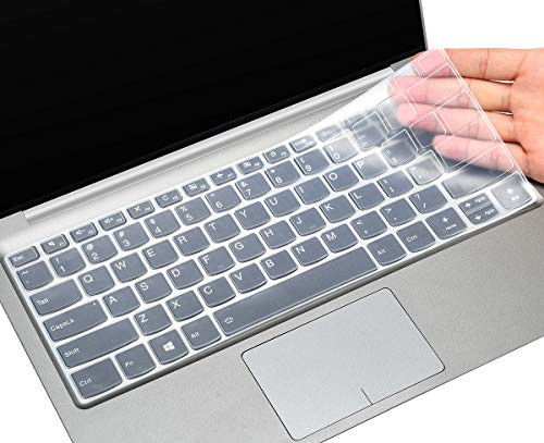 CaseBuy Keyboard Cover for Lenovo Flex 5 14' 2-in-1 Laptop/Lenovo Flex 5 14IIL05 14/ Idepad S540 14 inch/IdeaPad Flex 5 14 inch, Silicone Keyboard Skin Protector for Lenovo Flex 5 14, Clear