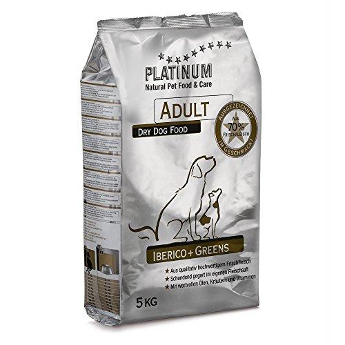 Platinum Adult Iberico+Greens (getreidefrei) 5kg