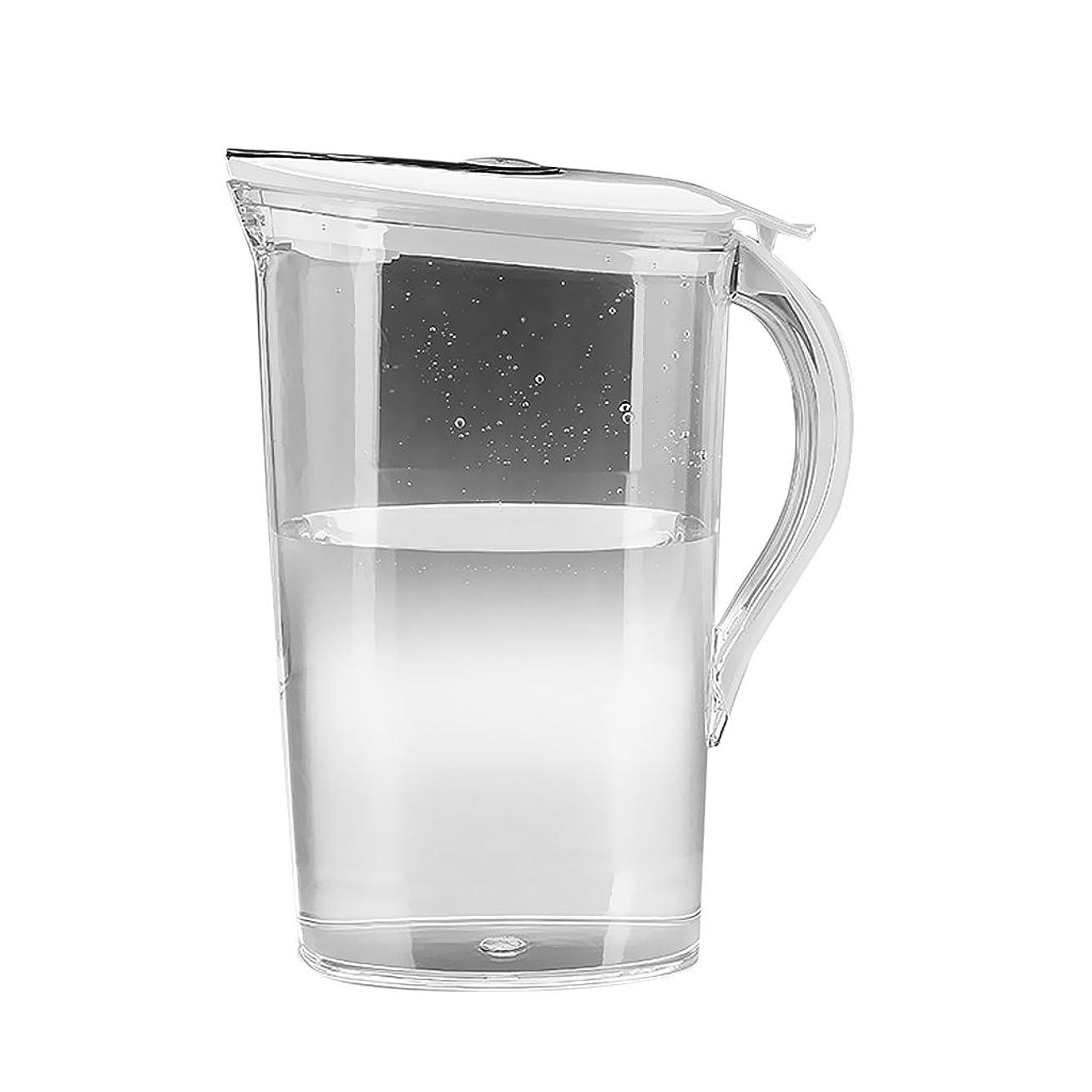 クラッチウィスキーアイデアピッチャー 水ポット アイスティー ジュースピッチャー 冷水筒 2.1リットル 家庭用 業務用