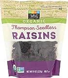 365 Everyday Value, Organic Raisins, Thompson Seedless, 8 oz