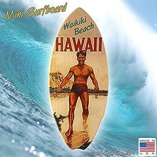 ミニサーフボードオブジェ 「Waikiki Beach HAWAII」 #5 /ワイキキビーチ/インテリア/ハワイ/