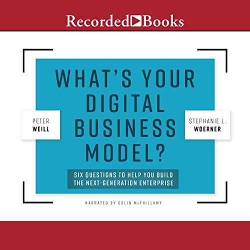 What's Your Digital Business Model? audiobook cover art