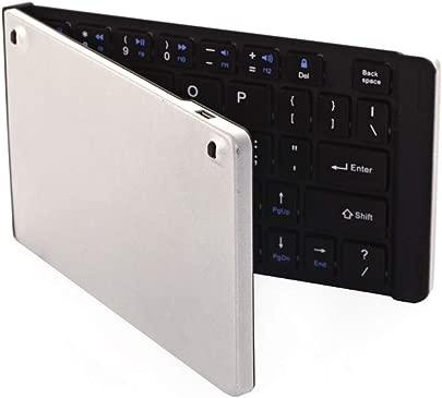 LHQ Bluetooth-Tastatur Kabellos Ultraflach 4 0 Faltbar Universell F r Mobile Tablets Kompatibel Mit IOS- Windows- Und Android-Systemen Kein Ausbleichen Farbe B Schätzpreis : 38,09 €