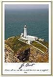 tzxdbh 13 Pinturas Retro Europeas Estilo nórdico Faro del mar HD Surrealismo Arte de la Pared Sala de Estar Pintura Abstracta 30x45cm Pas Sin Marco