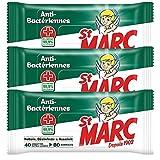St Marc Lingettes Nettoyantes Désinfectantes et Antibactériennes - 40 Lingettes Extra-Larges - Lot de 3