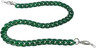 Sopaila Womens Mens 60cm Acrylic Retro Design Candy Colors Eyeglass Chain Holder Strap Cord