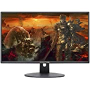 Sceptre 22 Inch FHD LED Gaming Monitor 75Hz 2X HDMI VGA Build-in Speakers, Metal Black 2018
