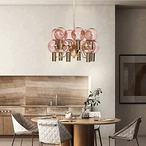 NA Gel Nail Linterna de Pared Proyector de Pared Lámpara Colgante Sala de Estar Vidrio nórdico Creativo Restaurante Dormitorio Estudio Arte Modelo Habitación