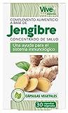 Vive+ Advance Jengibre, Suplemento Alimenticio - 3 Paquetes de 30 Cápsulas