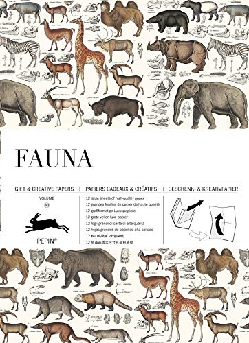 Fauna: Gift & Creative Paper Book Vol. 90 (Gift & creative papers, 90)