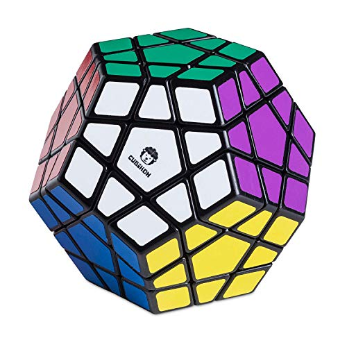 Cubikon Speed Megaminx - 3D Drehpuzzle für Fortgeschrittene Speed Cube Rätsel Zauberwürfel