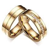 brave リング メンズ レディースカップルリング ペア指輪 ステンレス ファッション アクセサリー 婚約 結婚式 (メンズ:17号)