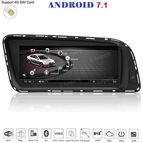 ANDROID 4G LTE GPS USB DAB+ MirrorLink Bluetooth 8.8 pollici 4GB RAM 32GB ROM navigatore compatibile con Audi Q5 2009-2016