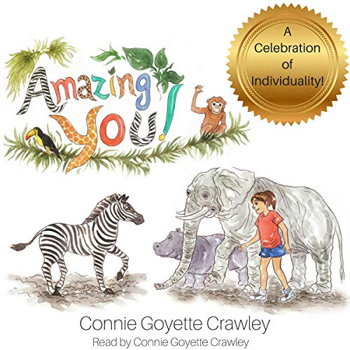 Amazing You! audiobook cover art
