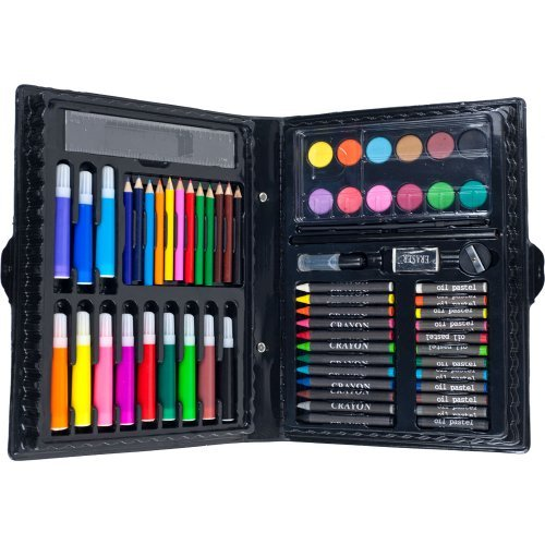 Banana Crossing 68-Piece Art Set With Storage Case by Trademark Global - Toys