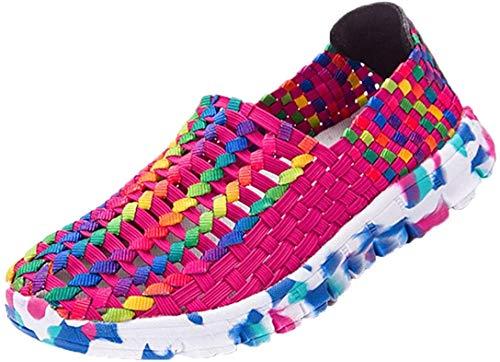 Zapatillas de Deporte para Mujer Otoño 2018 PAOLIAN Zapatos de Running de Plano Dama Casual Talla Grande Cómodo Calzado de Trabajo Deportivo Moda Señora Senderismo Baratos