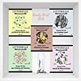 Littorelle – Coffret Beauté Boost - 5 Masques Shaker pour le Visage Made in France -Rituel de Soin complet – Peau Revitalisée, Détoxifiée, Illuminée – Shaker inclus