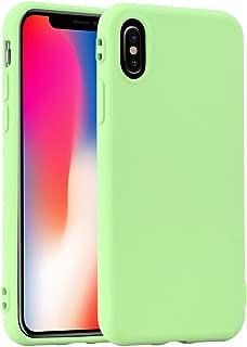 Pastel Rainbow Jelly iPhone X 春天绿