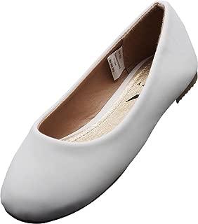Girls Fashion Ballerina Ballet Slip On Flat Shoe Sizes Toddler to Big Kids Patent, Nubuck, Glitter