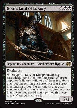 Magic The Gathering - Gonti, Lord of Luxury (084/264) - Kaladesh