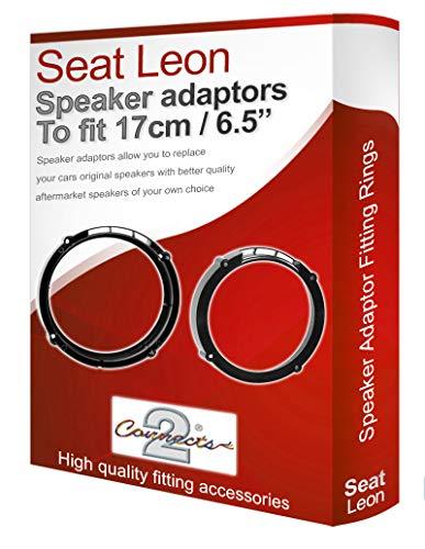 SEAT LEON Adaptateur pour haut-parleur arrière gousses de 17 cm 6,5 pour porte assiettes Adaptateurs