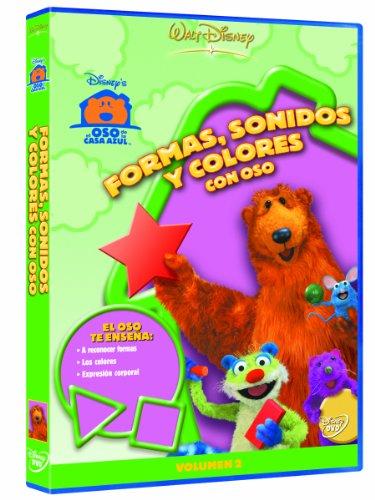 El Oso De La Casa Azul: Formas, Sonidos Y Colores [DVD]