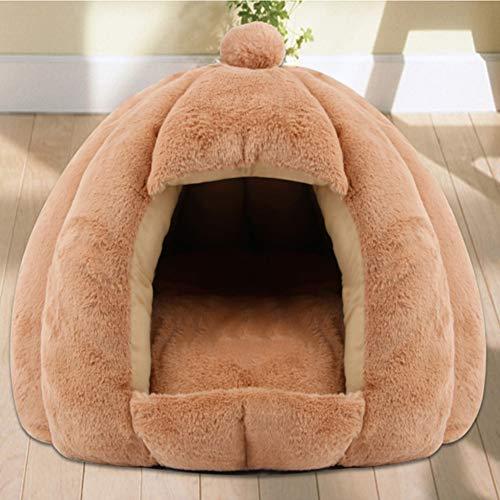 HANHAN DONUT Katzenhöhle Hundebett Höhle Deluxe Kuscheltier kleines Sofa Medium Weide Schlaf beruhigend Anti Angst Kauen personalisiertes Kissen orthopädische Matratze waschbar