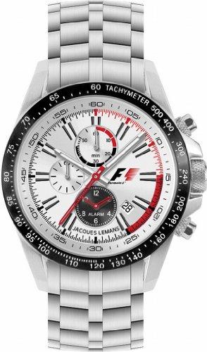 Jacques Lemans Herrenarmbanduhr Formula 1 F-5007 Alarm-Chrono D