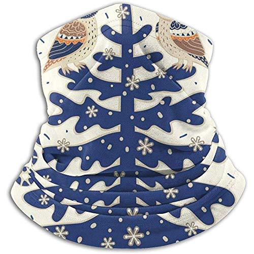 Archiba Fond de Vacances de Noël Cache-Cou guêtre - - de Moto pour Le Temps Froid