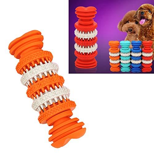 Hundespielzeug Kauen-Spielzeug for Pet Zahnreinigung ungiftiges weiches Gummi, 12cm Huangchuxin (Color : Color1)