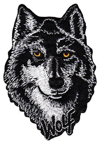 Bügelbilder Wolf Aufnäher
