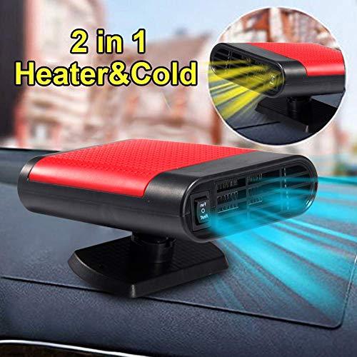 Acidea Riscaldamento Auto 12v, Riscaldamento rapido in 30 Secondi, Ventola di Raffreddamento...
