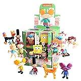 The Loyal Subjects Nickelodeon Splat Action Vinyls Window Box Assortment (12 Figures)