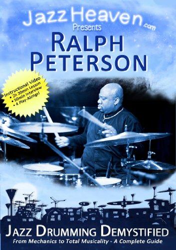 Jazz Schlagzeug Lernen Lehr-DVD Ralph Peterson Jazz Drumming Demystified Unterricht Stunde Jazz-Schlagzeug Video JazzHeaven Schlagzeugschule Schlagzeug-Schule Lehr-DVD für Schlagzeug