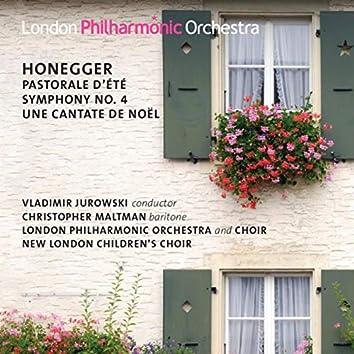 Honegger: Symphony No. 4, Une Cantate de Noël, Pastorale d'été