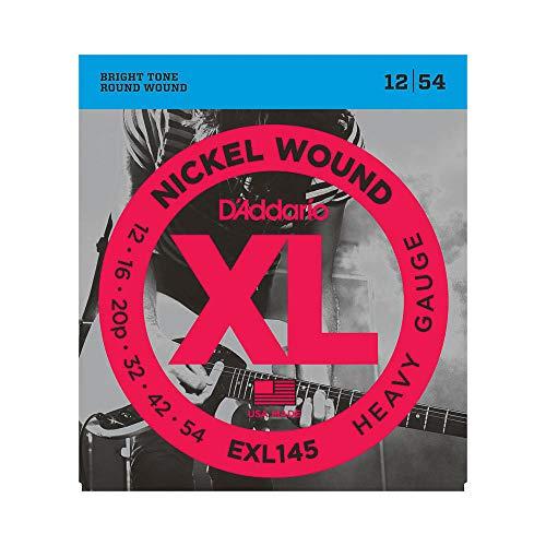 D'Addario EXL145 - Juego de cuerdas para guitarra eléctrica de níquel, 012' - 054'