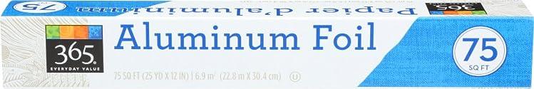 365 Everyday Value, Aluminum Foil, 75 SQ FT